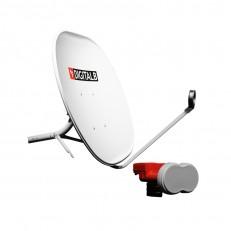 SET: Antenë parabolë satelitore + Kokë LNB