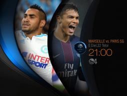 Marseille vs PSG, 22 tetor, ora 21:00, SS4
